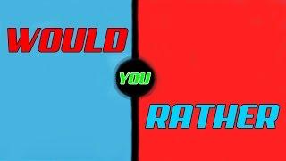 Roblox vs Minecraft | You prefer to...