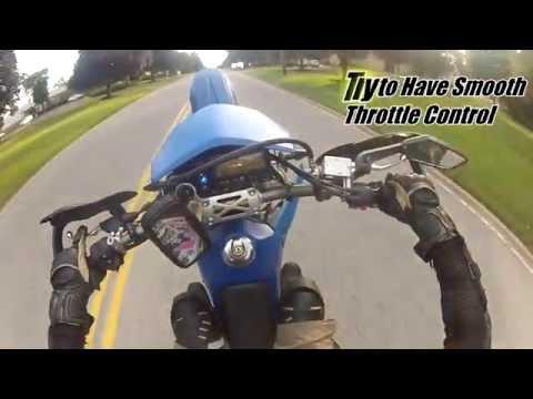 How to Wheelie a DRZ400SM / Supermoto - For Beginners
