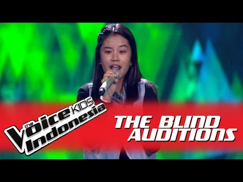 """Michelle """"Piece Of My Heart"""" I The Blind Auditions I The Voice Kids Indonesia GlobalTV 2016"""
