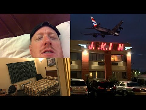 STAYING IN THE WORLD'S WORST AIRPORT HOTEL! 5 Cities Travel Challenge