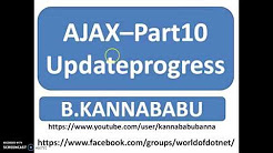 Ajax-Part 10 Update progress and Timer control,AdRotator Control