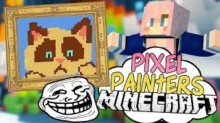 Dank Memes | Pixel Painters | Minecraft Art Minigame
