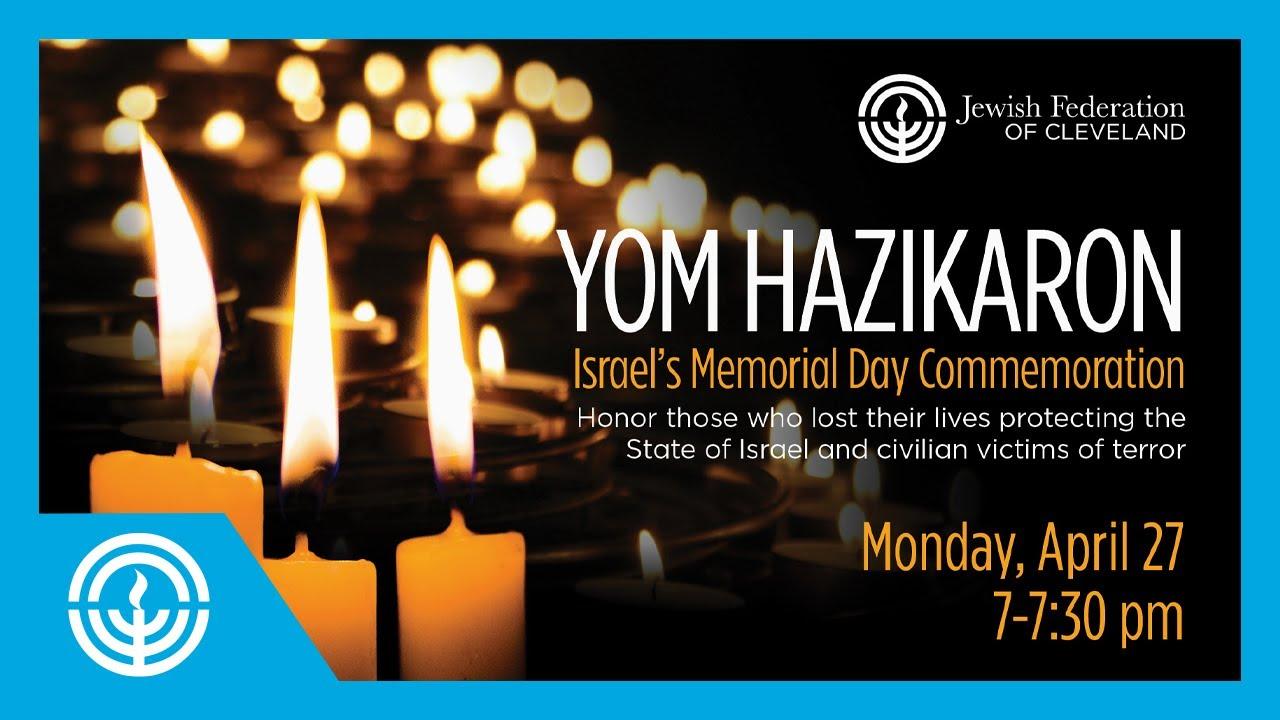 Yom Hazikaron 2020, Israels Memorial Day - YouTube