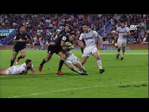 HIGHLIGHTS: 2018 Super Rugby Week #8 Jaguares v Crusaders