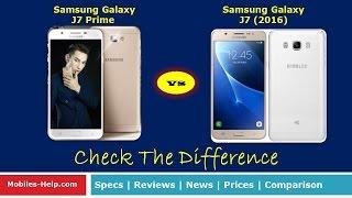 samsung galaxy j7 2016 vs samsung galaxy j7 prime quick review