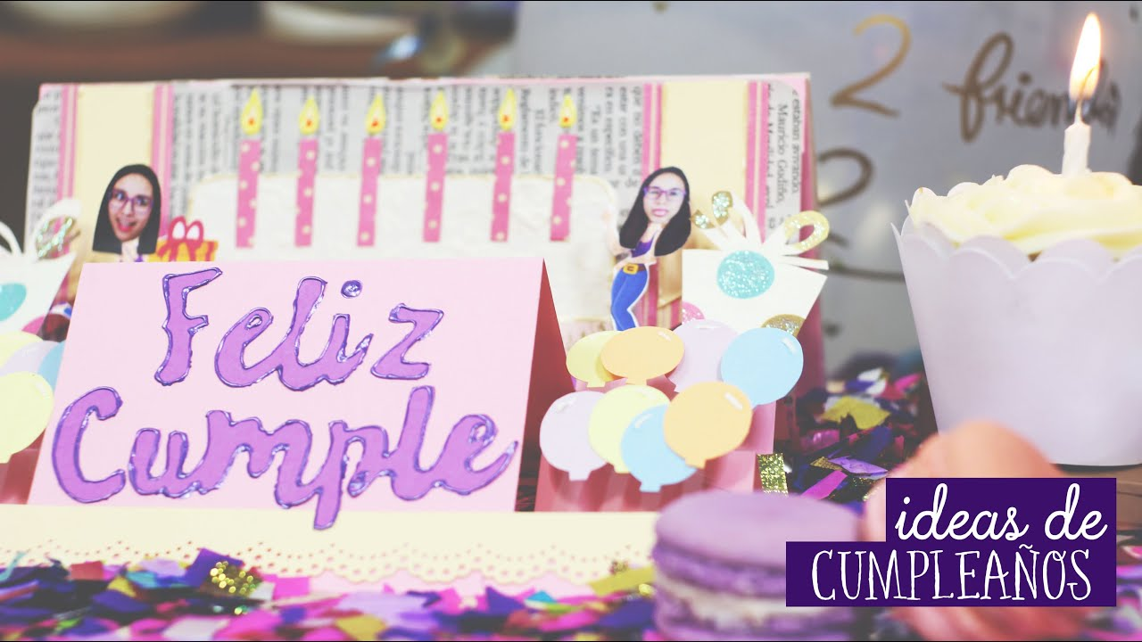 Ideas de cumplea os qu regalar craftingeek youtube - Regalos faciles para cumpleanos ...