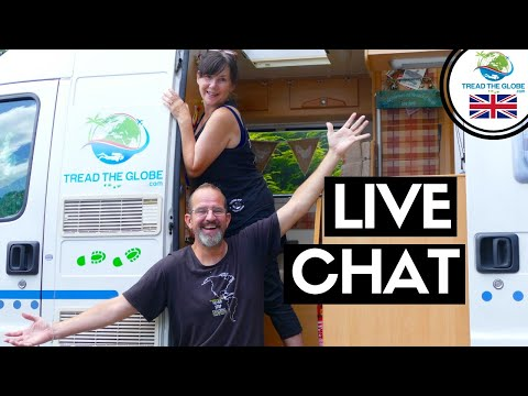 TREAD The Globe Live Q&A - Vanlife