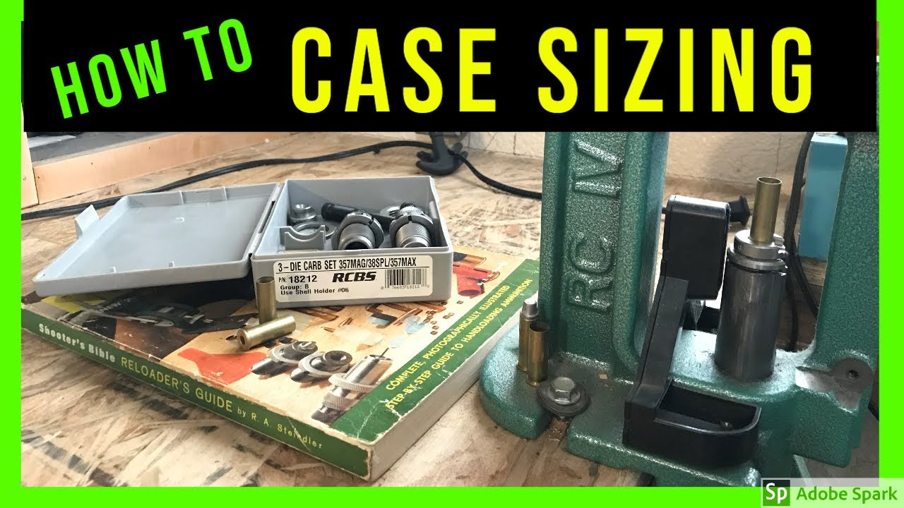 Setup Case Sizing & Decapping Dies  38 SPL &  357