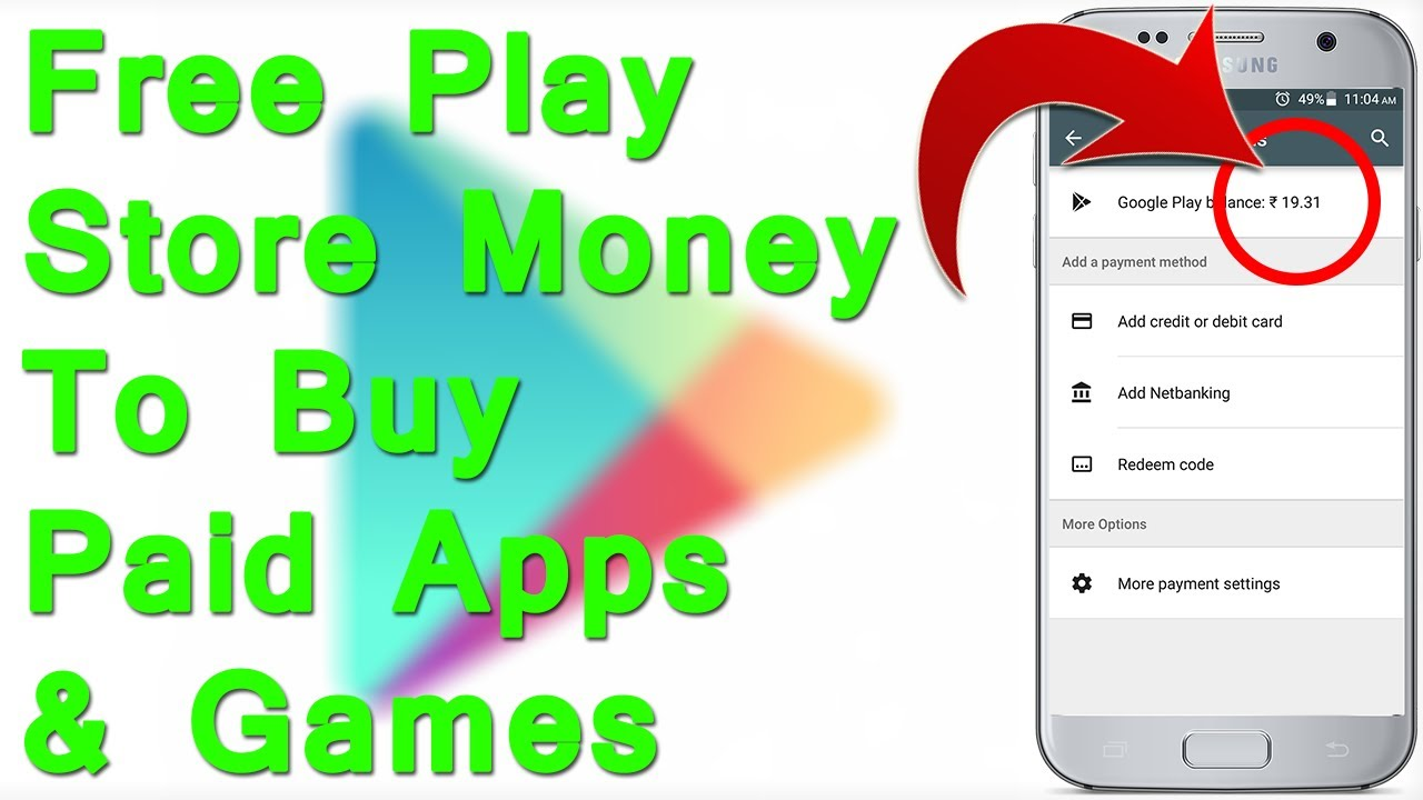 Get Free Play Balance Credit To Paid S And For