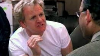 Italian Chef who can't cook a meatball pisses Gordon Ramsay off