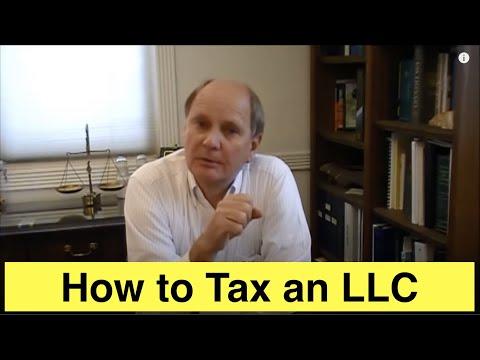 Taxation of an LLC