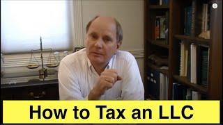 Taxation of an LLC Video