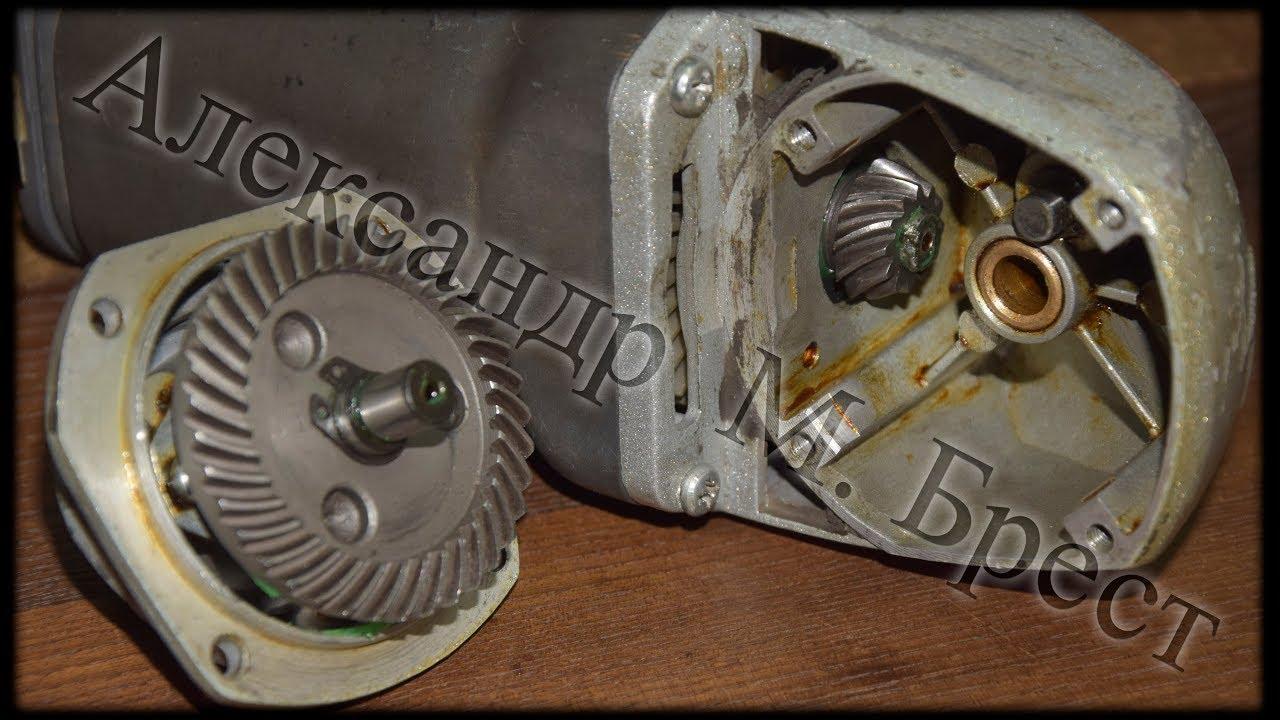 Как поменять шестерни на обычной болгарке \ ушм Энергомаш \ Ремонт электроинструмента \ М Брест