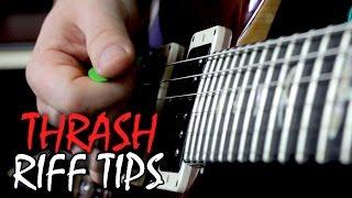 Thrash Metal Guitar Tips