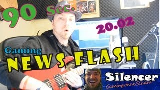 90 Sekunden News Flash: 20.02. Crysis 3 DLC, Alien, Day Z, AC3, BF3, Diablo 3 [HD]