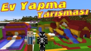 VENOM vs KAMİL DAYI Minecraft'ta Ev Yapma Yarışması