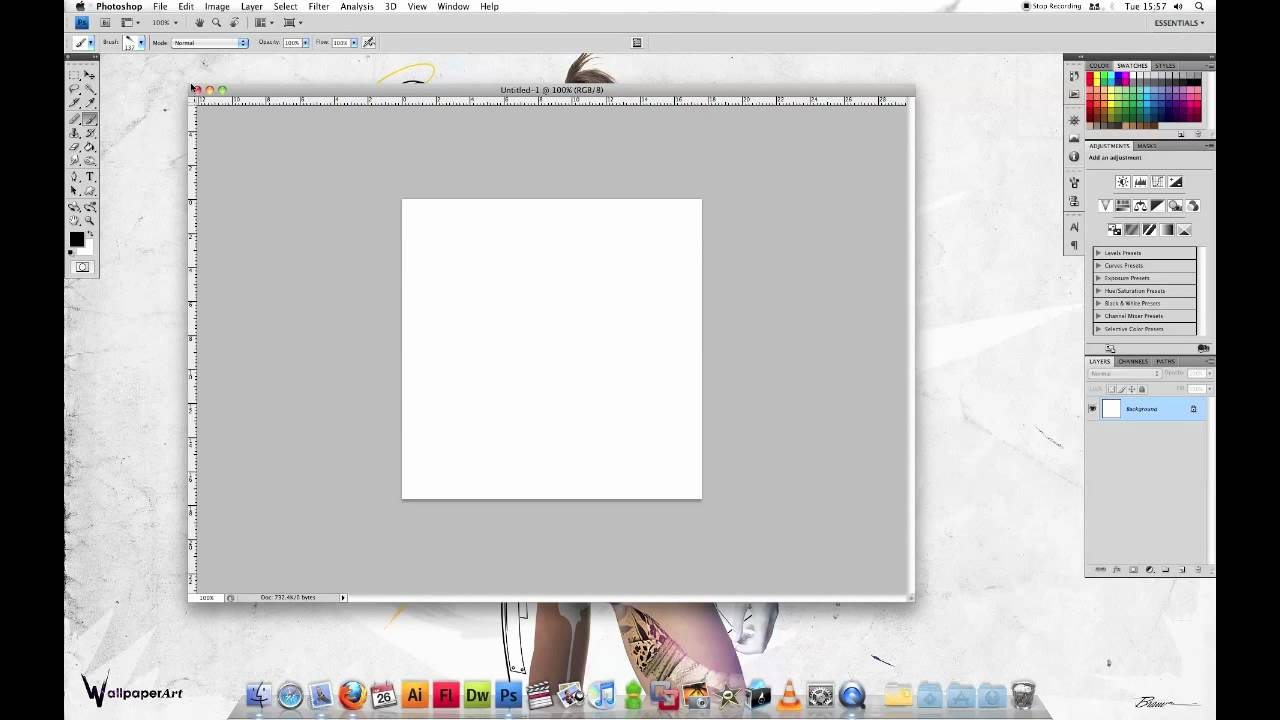 How to Install Photoshop Brushes