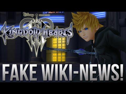 Kingdom Hearts 3 - FAKE Wikipedia News!