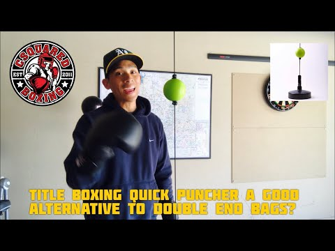 Title Boxing Quick Puncher/ Double End Bag REVIEW- A GOOD ALTERNATIVE TO THE DOUBLE END BAG?