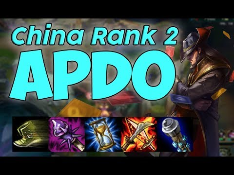 This is why APDO is the Worlds best Twisted Fate | Rank 2 China
