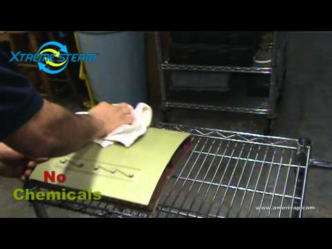 Airplane Fuselage Cleaning and Sanitizing with a Dry Steam Cleaner - AmeriVap Systems - Xtreme Steam