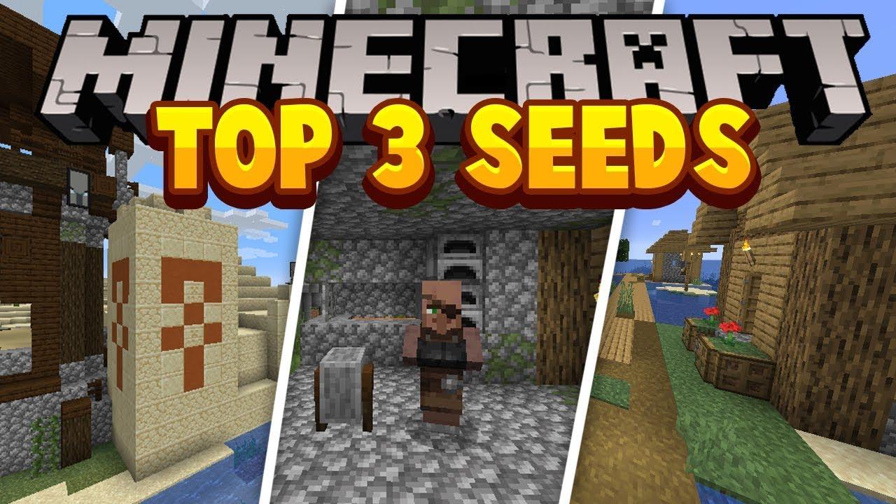 TOP 3 BEST MINECRAFT SEEDS IN 1.14 (Minecraft Java Village ...