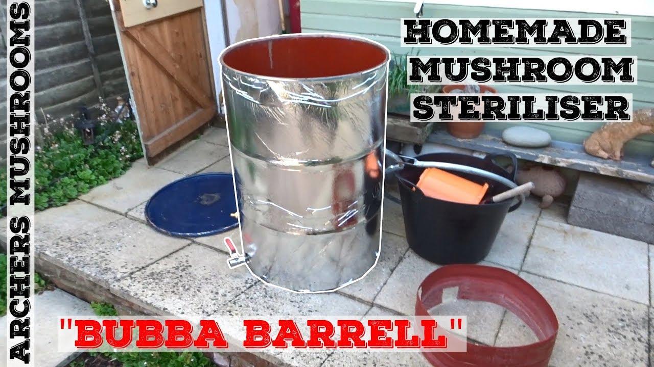 Homemade Mushroom Steriliser | DIY Barrel Mushroom Steriliser | Homemade  Bubba Barrel