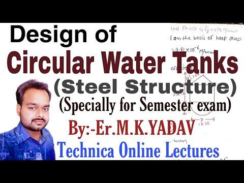 Design Of Steel Circular Water Tank