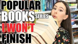 POPULAR BOOK SERIES WON'T FINISH || Books with Emily Fox