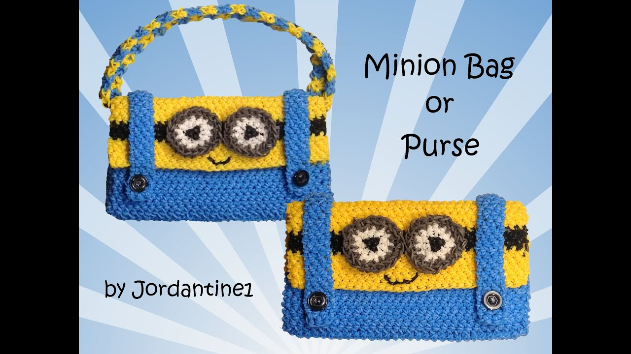 New Minion Bag / Purse / Pencil Case - Loomigurumi / Amigurumi ...