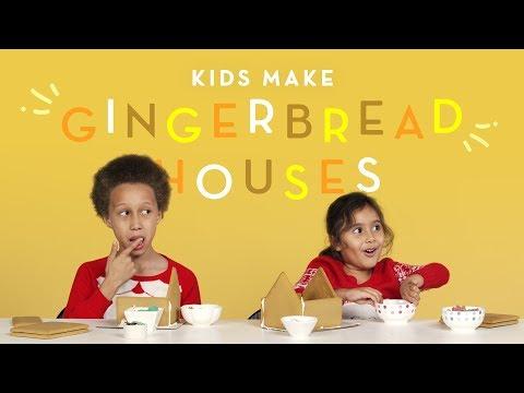 Kids Make A Gingerbread House | HiHo Kids