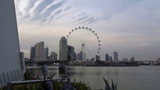 singapore flyer zoom test by sony cybershot dsc hx90v digital camera 30x optical zoom hd