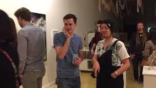 """Illuminate,"" Craig Marshal Wilson, Gallery Edit, Opening Reception, Film, 4/6/2018"