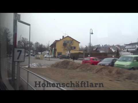 Mittfahrt S Bahn München -S7 Wolfratshausen - München Ostbahnhof [ 02.2017 ]
