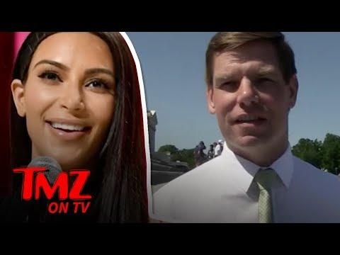 Rep. Eric Swalwell Gives Kim Kardashian Advice on Passin the Bar Exam   TMZ TV