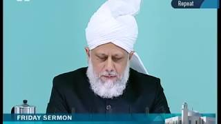 Urdu Friday Sermon 15th October 2010 - Islam Ahmadiyya