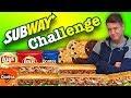 Gambar cover Ultimative Subway Challenge   5 foot long Subs + mehr