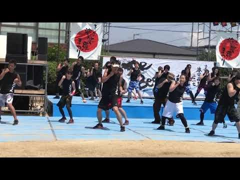 まるがめ婆娑羅まつり2017 ジョイフィット ボディコンバット② LesMills Bodycombat