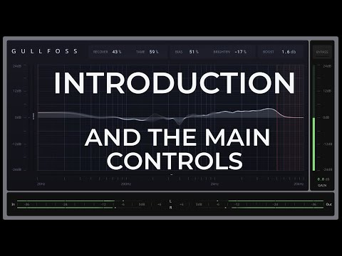 Introduction and the Main Controls