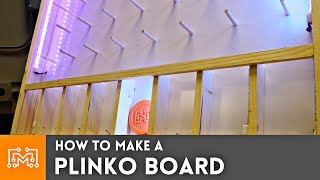How to make a Plinko Board // Woodworking