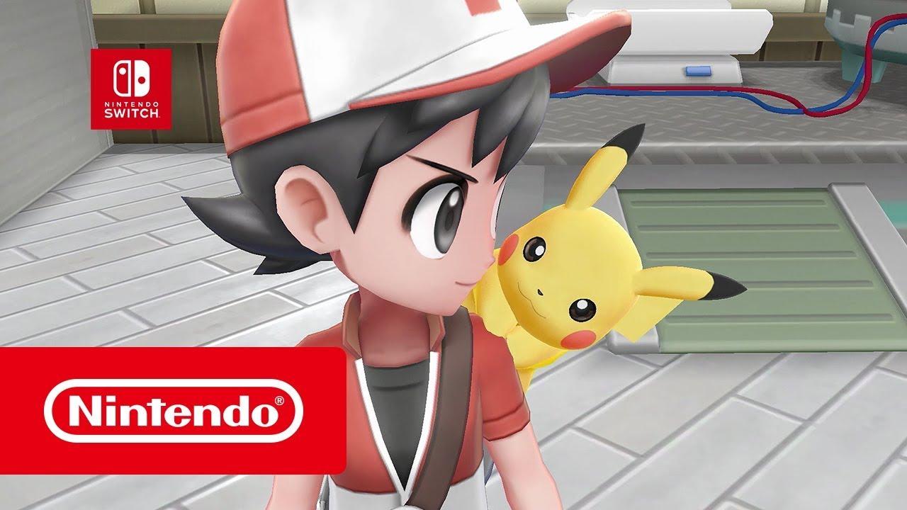 Pokémon : Let's Go, Pikachu & Pokémon : Let's Go, Évoli - Bande-annonce (Nintendo Switch)