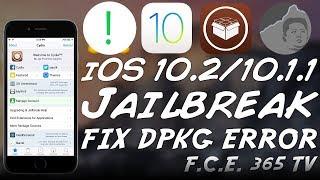 iOS 10.2 Jailbreak - How to Fix Cydia Error DPKG_LOCKED