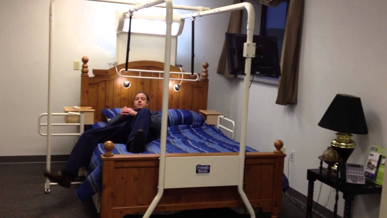 Bed Transfers/Trapeze For Elderly/Disabled-Rehab Therapist