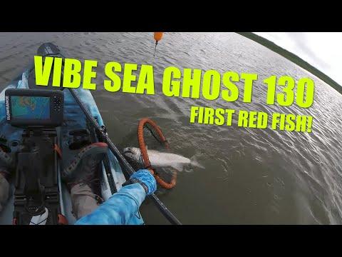 #KayakFishing #VibeSeaGhost130 Catching #redfish In Heron Bay, Alabama #GLoomisrods