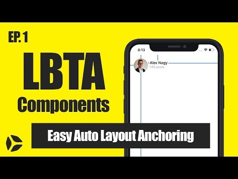Anchoring UIViews: LBTAComponents in Swift 4 [STEP BY STEP]