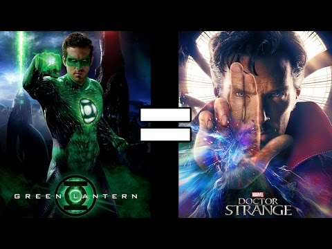24 Reasons Green Lantern & Doctor Strange Are The Same Movie
