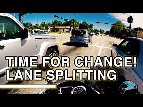 49 States Without Progressive Lane Splitting Laws | Time for Change