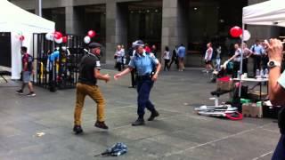 Amazing Policewoman !- Better Angle