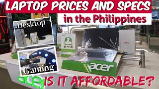LAPTOP PRICE in the PHILIPPINES |  Cyberzone SM Megamall