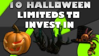Top 10 Best Halloween Limiteds to Buy! (2018 Roblox)